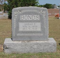 "Sarah Elizabeth ""Sally"" <I>Flemming</I> Bonds"