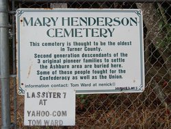 Mary Henderson Cemetery