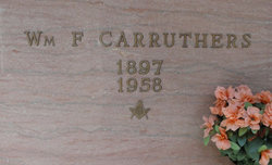 William F Carruthers