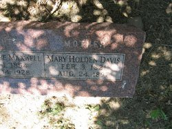Mary Holden <I>Parker</I> Davis
