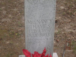 Nancy Louisa <I>Parker</I> Thames