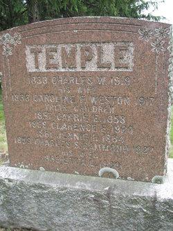 Caroline F. <I>Weston</I> Temple