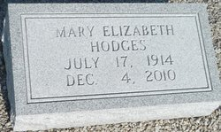 Mary Elizabeth Hodges