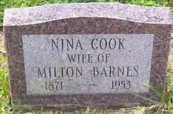 Nina L. <I>Cook</I> Barnes