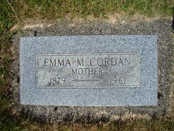 Emma <I>McGee</I> Cordan