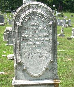 Mary <I>Weisner</I> Acker