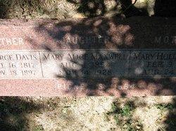 Mary Alice <I>Davis</I> Maxwell