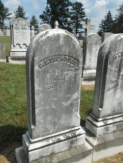 Gilbert Livingston Thompson