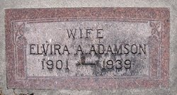 Elvira Helga <I>Anderson</I> Adamson