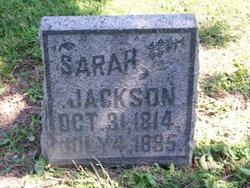 Sarah <I>Craig</I> Jackson