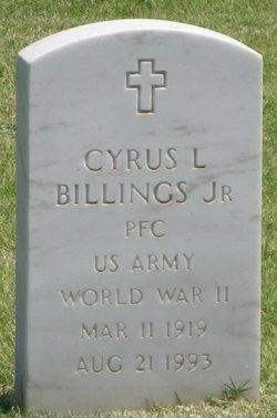Cyrus L Billings, Jr