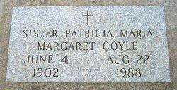 Sr Margaret (Patricia Maria) Coyle