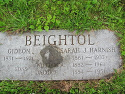 Sarah J. <I>Harnish</I> Beightol