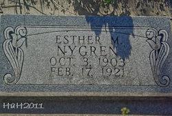 Esther M Nygren