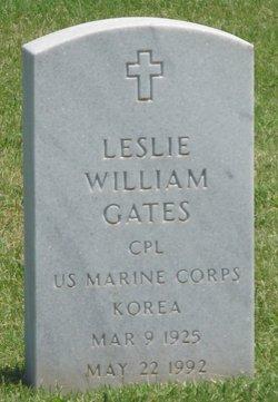 Leslie William Gates
