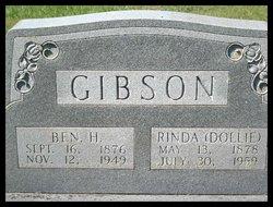 """Rinda """"Dollie"""" <I>Jennings</I> Gibson"""