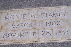 Monie G. Stamey