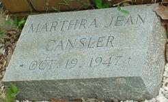 Martha Jean Cansler