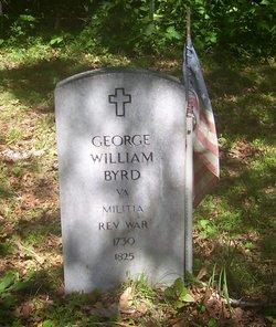 Col George William Byrd