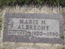 Marie Magdalen <I>Meyer</I> Albrecht