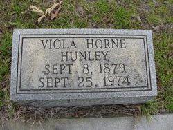 Dessie Viola <I>Horne</I> Hunley