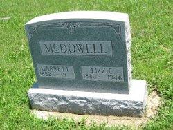 """Elizabeth """"Lizzie"""" <I>Hull</I> McDowell"""