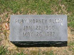 Ruby Katherine <I>Horney</I> Allen