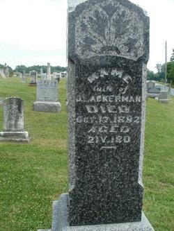 Mame <I>Killen</I> Ackerman