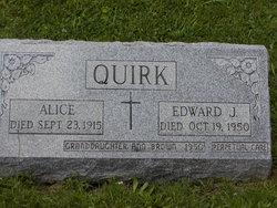 Alice B <I>Blanchfield</I> Quirk