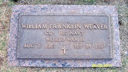 William Franklin Weaver, Sr