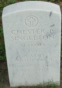 Chester P Singleton