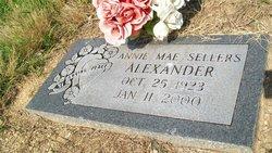 Annie Mae <I>Sellers</I> Alexander