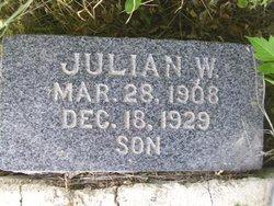 Julian W Sanderson