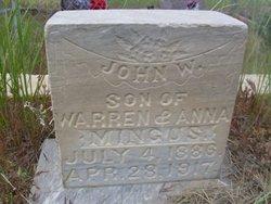 John W Mingus