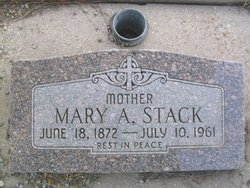 Mary A Stack
