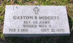 Gaston Burrus Midgett, Sr