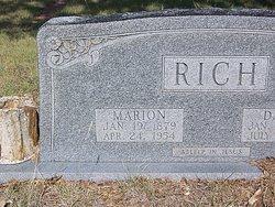 Marion M Rich