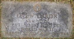 Pvt Leo W Carter