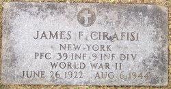 PFC James F Cirafisi