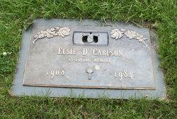 Elsie D. <I>Petersen</I> Carlson