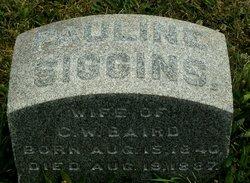 Pauline <I>Siggins</I> Baird