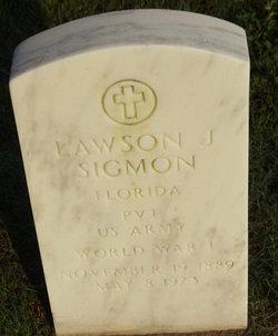 Lawson J Sigmon