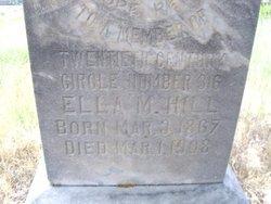 Ella M <I>O'Dea</I> Hill