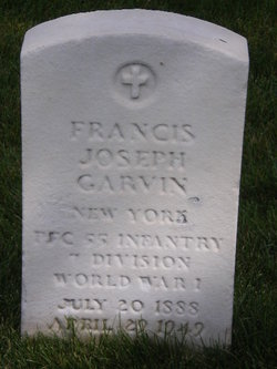 PFC Francis Joseph Garvin