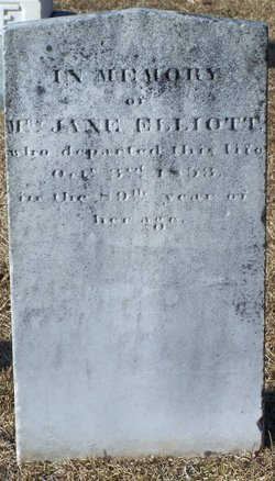 Jane <I>McKeown</I> Elliott