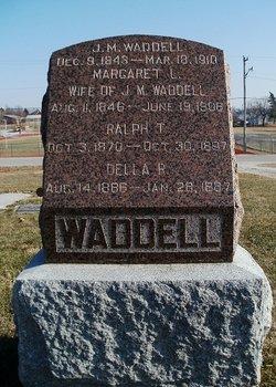 Margaret Louisa <I>Terril</I> Waddell