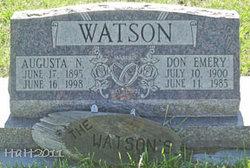 Don Emery Watson