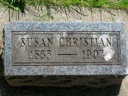 Susan <I>Hoover</I> Christian