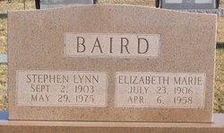 Elizabeth Marie <I>Westerfield</I> Baird
