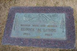 Eunice M. <I>McKay</I> Lunde
